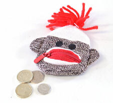 SCHYLLING FUN SOCK MONKEY COIN PURSE