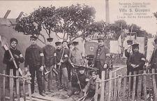 * VILLA SAN GIOVANNI - Terremoto Calabro Siculo 1908 - Croce Verde Genovese