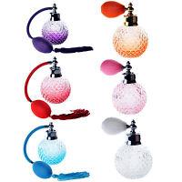 Crystal Effect Vintage Style Perfume Puffer Spray Atomiser Bottles Birthday Gift