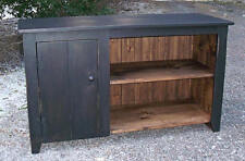 Primitive Handcrafted TV Cupboard/Stand