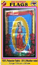 OUR LADY of GUADALUPE flag Mexican flag Mexico flag religious flag