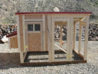 Chicken coop plan and material list, The Mini Cooper Plus