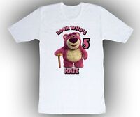 Personalized Custom Toy Story Lots O Hugging Bear Birthday Shirt