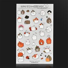 6pc DIY Kawaii Rabbit Girl Color Deco Stickers Diary Scrapbook Decal Photo Craft