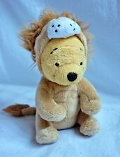 """Disney Winnie The Pooh Lion Soft Toy Plush Collectable Teddy Dress Up approx 6"""""""