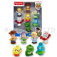 Fisher Price Little People Toy Story 4 Disney Pixar 7 Friend Figure Pack