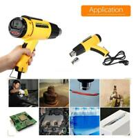LODESTAR Hot Air Heat Gun Adjustable Temperature Nozzle 1500W AC220V LCD Digital