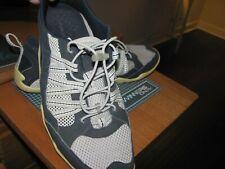 Lands End Mens Water Shoes Mesh  SIZE 10 EE -NAVY 416716   GOOD SHAPE  -Sale