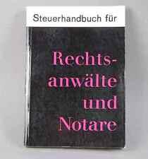 Manuale fiscale per avvocati e notai-di Friedrich Kötter 1966/s148