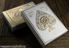 Artisan White Deck Playing Cards Poker Size Theory 11 USPCC Limited Edition New