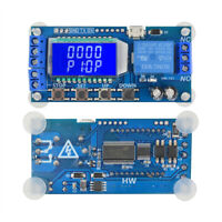 DC5V Trigger Cycle Timming Circuit Switch Board Time Delay Relay Module  USB LCD