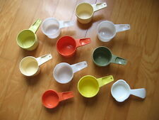 Tupperware Measuring Cup Replacement 1/3 - 2/3 -3/4 CUP Orange Yellow Green Whit