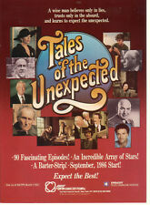 Vincent Price George Peppard Telly Savalas Tales Of The Unexpected 1986 Ad