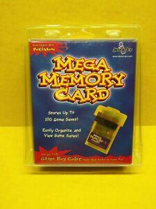 Mega Memory Card (Game Boy Color, 1999) New/Sealed