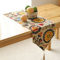Home Table Runner Pastoral Bohemia Dining Room Party Bed Decor Tablecloth Cover