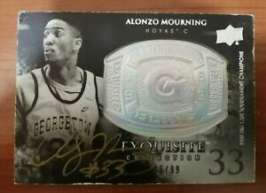Alonzo Mourning Upper Deck Exquisite Collection 2011-12 96/99