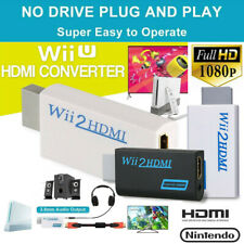 Portable Wii To Hdmi Wii2Hdmi Converter Adapter 3.5mm Audio Video For Nintendo