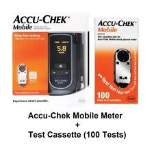 Accu-Chek Mobile Blood Glucose Meter Kit + Test Cassette Starter Kit (100 Tests)