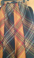 Anne Klein Multi Color 100% Wool Skirt-Size 4