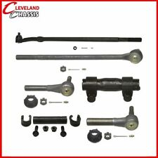 6 Pc Steering Kit Ford F250 HD F350 Crew Cab 2WD 85-97 Center Link Tie rod
