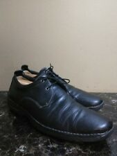 Cole Haan Nike Air Mens Shoes 13 Black Leather Sport Lace Up Casual $250