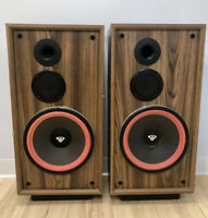 "Cerwin Vega DX5 3 way Floor Speakers 12"" Inch Woofer LOCAL PICK UP ONLY"