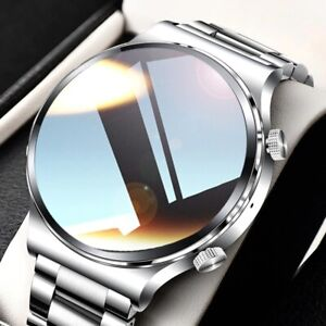 2021 New Luxury Men's Smart watch Sports watch Full screen touch call Heart rate