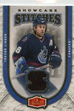 Trevor Linden  2005-06 Flair Showcase Stitches Jersey Relic #SS-TL