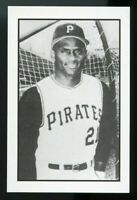 1984 Gallaso Baseball Collector Series #1 Roberto Clemente Pittsburgh Pirates