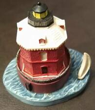 "Spoontiques Lighthouse - Sandy Point, Md - 4¼"" X 4¼"" - Ex"