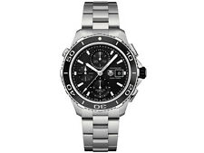 TAG HEUER AQUARACER CAK2110.BA0833 AUTOMATIC 500M CHRONOGRAPH CERAMIC WATCH