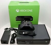 NEW Microsoft XBOX One 500GB Black 1540 Console Bundle Gaming System 500-GB Set