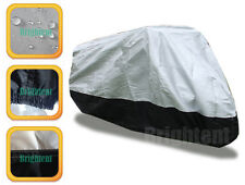 100% Waterproof Deluxe Motorcycle Cover Street Sport Bikes Cotton Lining BM2HS