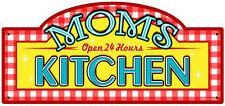 Mom's Kitchen Plasma Cut Metal Sign