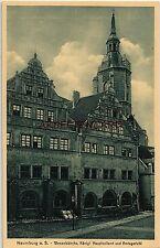 Architektur/Bauwerk Ansichtskarten vor 1914 aus Sachsen-Anhalt