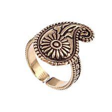 Beautiful Women-Wear-gold-Plated-Mango Design-Fashion-Adjustable-Ring-Jewelry