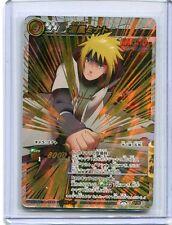 NARUTO JAPANESE card carte Miracle Battle carddass Super Omega 9 Minato