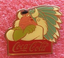 Pins DISNEY COCA COLA CHEF INDIEN INDIAN CHIEF PETER PAN 15 Th Anniversary