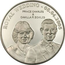 The error dated 2005 Prince Charles and Camilla 1 Dollar [Ref 933P]