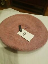 UGG Women's 17789dl18 Cable Knit Beret Smokey Pink O/s