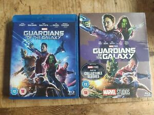 Guardians of The Galaxy (Blu-ray) with Collectible Marvel Slip cover