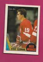 1987-88 OPC # 56 RED WINGS STEVE YZERMAN EX-MT CARD (INV#2131)