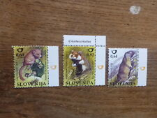 SLOVENIA 2015 RODENTS SET 3 MINT STAMPS