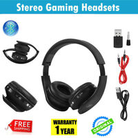Wireless Gaming Stereo Headset Headphone Microphone for Sony PS4 PlayStation4 SG