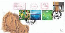 (04656) GIOCO GB FDC persone & luogo CAMPAGNA Agenzia METER MARK 6 GIU 2000