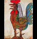The Rooster by Pablo Picasso PHOTO Art Print of his 1938 work Chicken