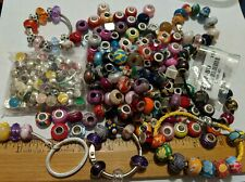 BRACELET BEADS  MIX KEYCHAINS MORE ABOUT ONE POUND