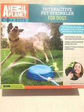 Animal Planet Interactive Outdoor Lawn Pet Sprinkler for Dogs Cooling Play.