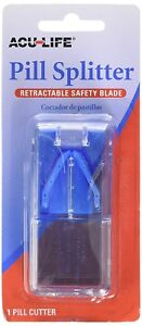 Acu-Life (Aculife) Deluxe Pill Splitter with Retractable Blade