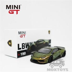 MINI GT 1:64 Lamborghini Huracán ver. 2 Magic Bronze RHDModel Car